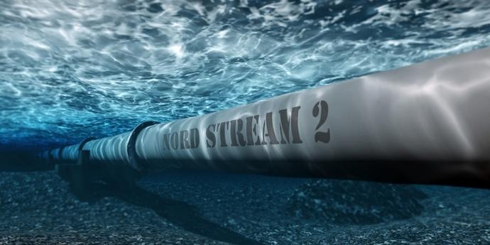 У Газпромі заявили, що  «Північний потік-2» збудовано на 73,6%