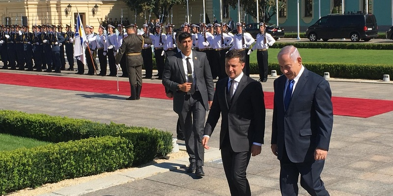 Прем'єр Ізраїлю Нетаньягу зустрівся із Зеленським у Києві