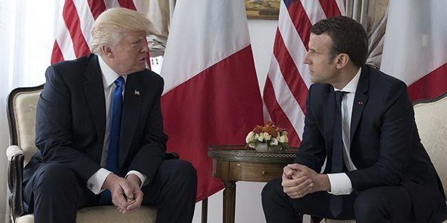 Трамп і Макрон домовилися запросити Росію на саміт G7