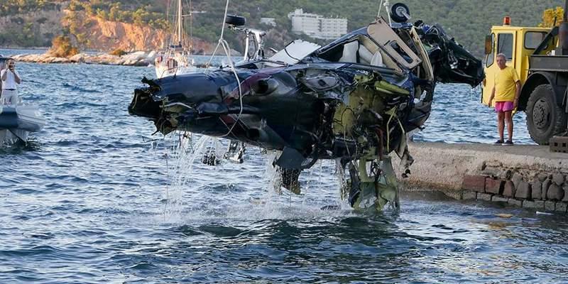 У Греції розбився вертоліт з росіянами на борту