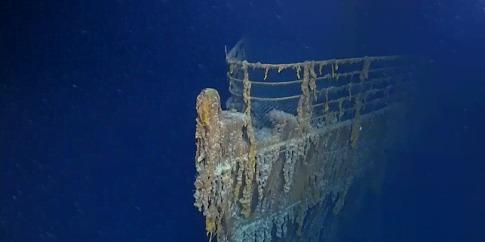 Як виглядає «Титанік» через 107 років після катастрофи (відео)