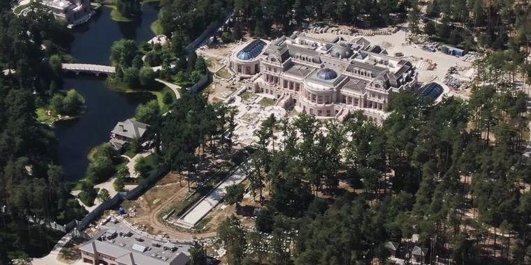 За гроші від «Роттердам+»: Ахметов будує під Києвом маєток площею понад 12 тисяч м²