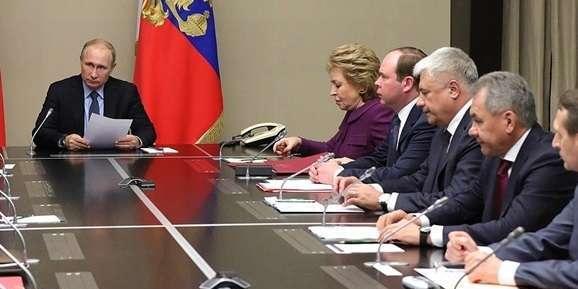 Путін провів засідання Радбезу РФ через ракетний тест США
