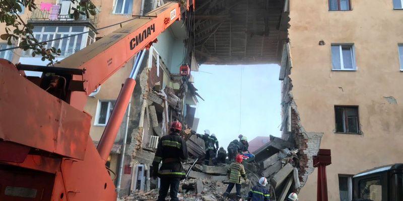 «Львівгаз» не пов'язує обвал будинку у Дрогобичі Львівської області з вибухом газу