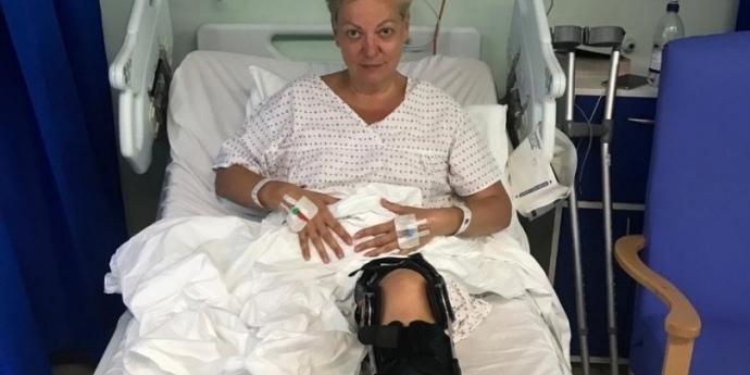 Гонтарева надіслала відео з госпіталю в Лондоні