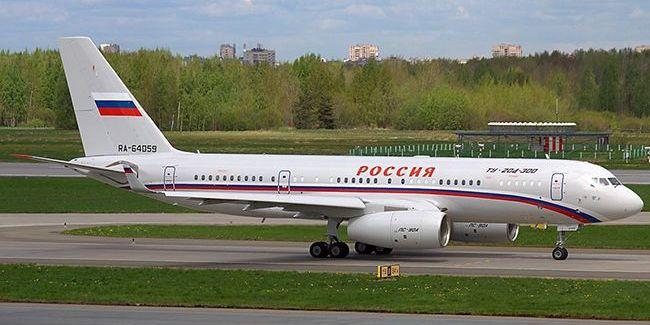 В аеропорту «Бориспіль» приземлився російський спецборт