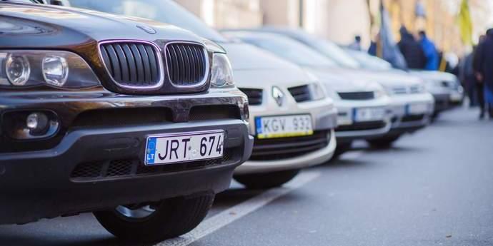У ДФС назвали кількість оштрафованих власників «евроблях»