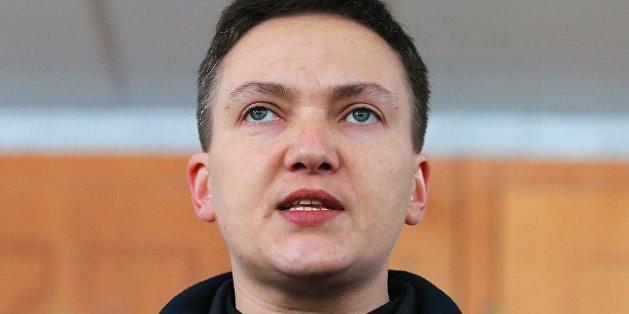 Надія Савченко шукає роботу
