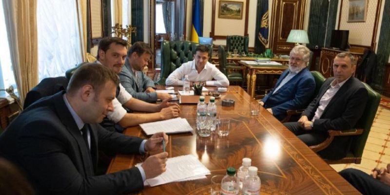 Коломойський відвідав Офіс президента