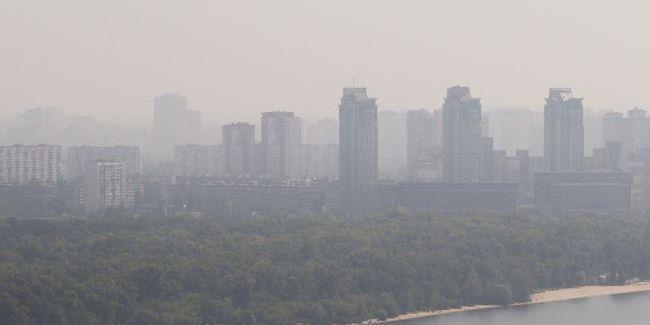 У КМДА назвали причину забруднення повітря в столиці