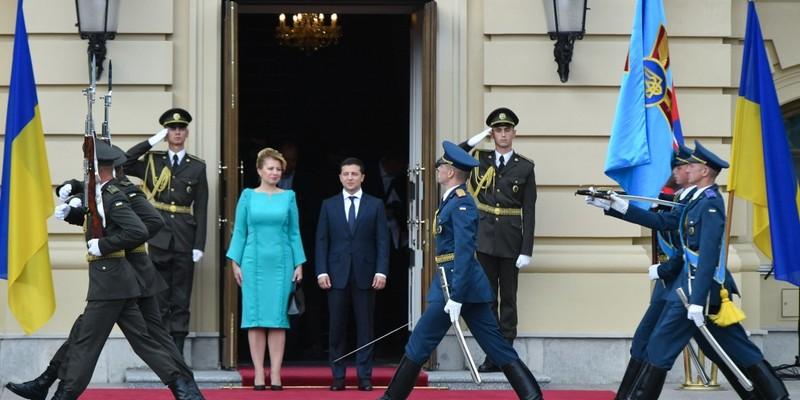 У столиці розпочалася зустріч президентів України та Словаччини
