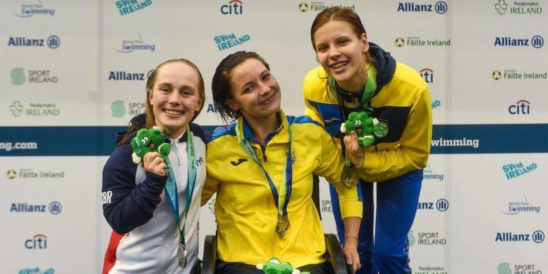 Паралімпійська збірна України посіла 1-ше місце на чемпіонаті світу із плавання