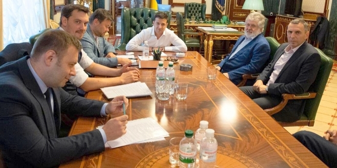 Зеленський і Коломойський шукають «компроміс» щодо Приватбанку