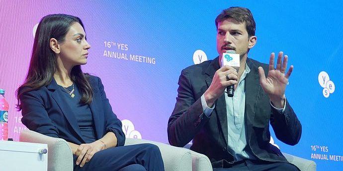 Міла Куніс з Кутчером узяли участь в конференції в Києві та зустрілися із Зеленським (фото, відео)
