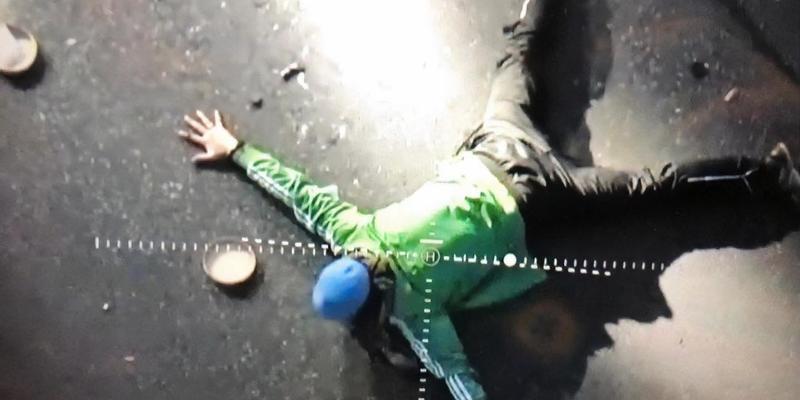 З'явилося відео допиту терориста з мосту в Києві (відео)