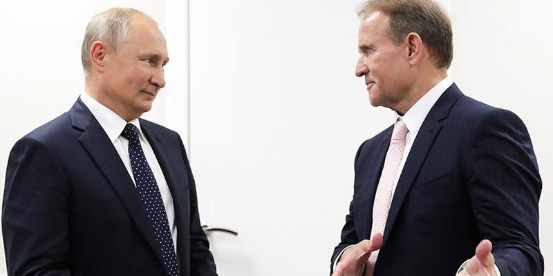 Путін - Медведчуку: Ви використовуєте наші добрі відносини, щоб захистити інтереси українців