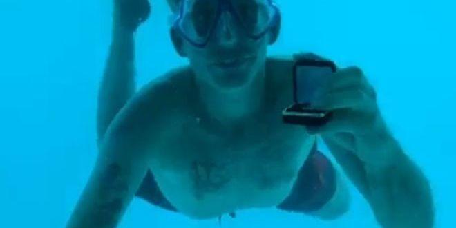 Американець потонув під час освідчення під водою. Наречена зняла на відео останні секунди його життя