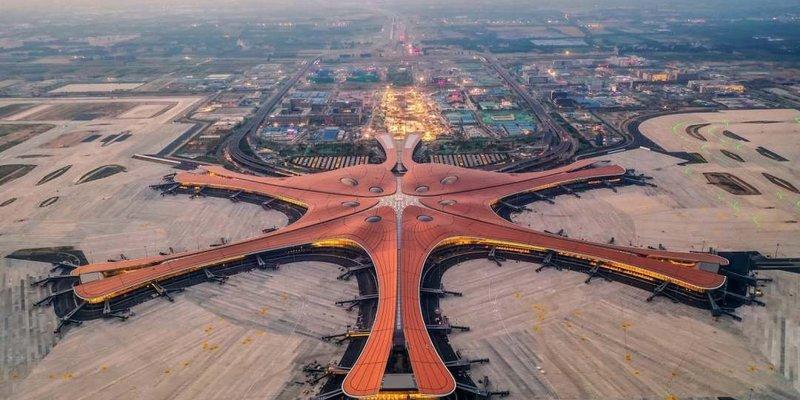 У Китаї відкрили найбільший у світі аеропорт