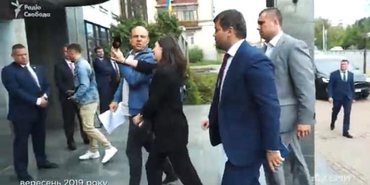 Мендель прокоментувала інцидент із журналістом