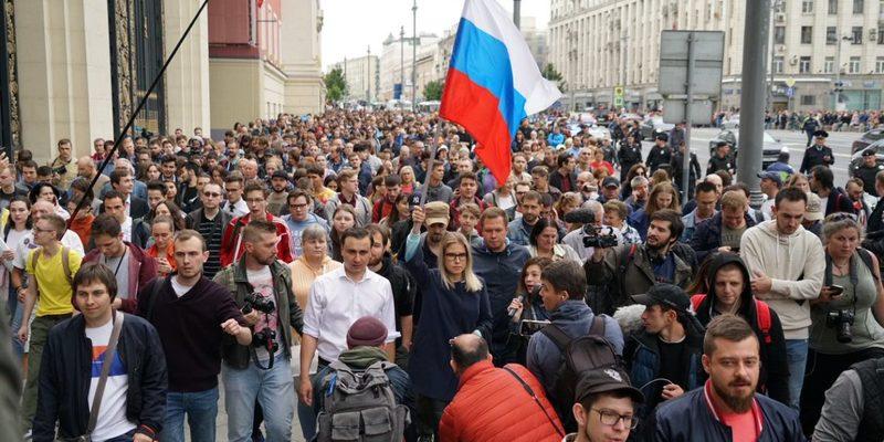 У Москві збираються на масштабну акцію протесту проти політичних репресій