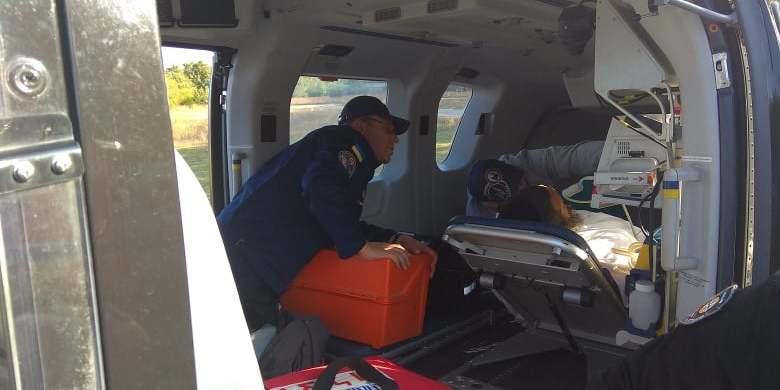 З Умані вертольотом евакуювали хворого хасида
