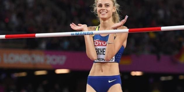 Українська стрибунка встановила новий рекорд світу серед спортсменок до 20 років (фото)