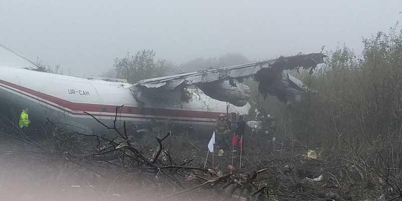 Біля Львова здійснив аварійну посадку Ан-12, є загиблі