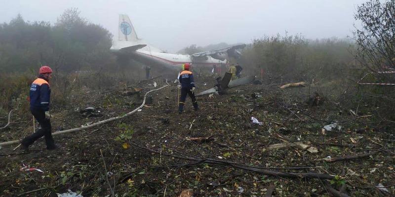 Скінчилось пальне або помилка пілота: у Львові перевіряють причини падіння АН-12 (відео)