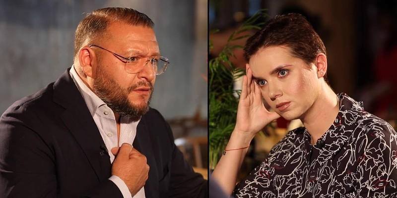Добкін в інтерв'ю телеведучій Яніні Соколовій розповів, чому він не спілкується українською мовою