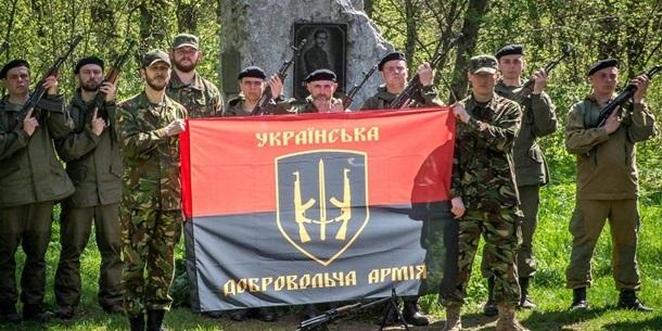 Українська добровольча армія мобілізує десятки тисяч військових у разі відведення підрозділів ЗСУ