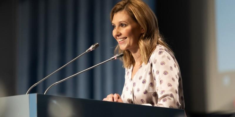 Олена Зеленська планує просувати проекти для покращення харчування у школах та дитсадках