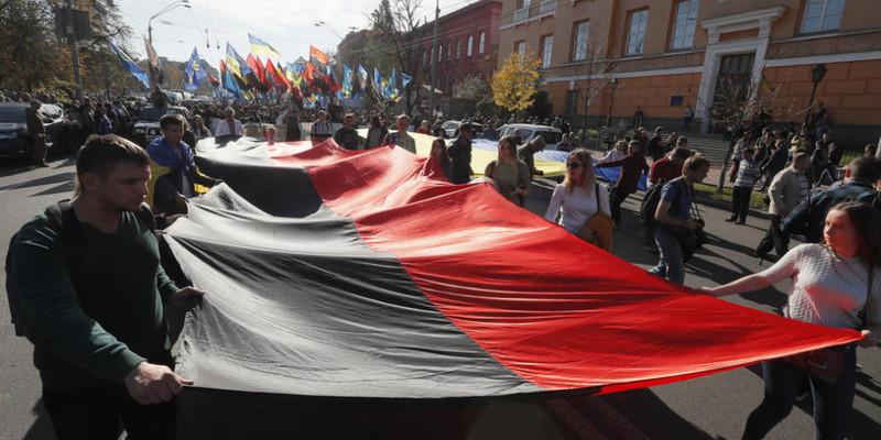 У Києві проходить традиційний марш УПА (фото)