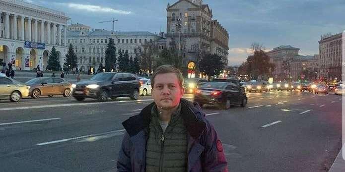 Російський пропагандист спокійно гуляє Києвом