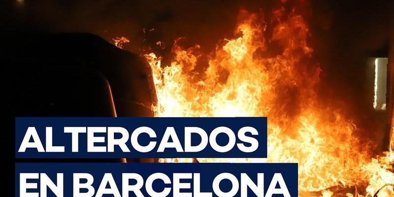У Барселоні й інших містах Каталонії протести обернулися заворушеннями (відео)