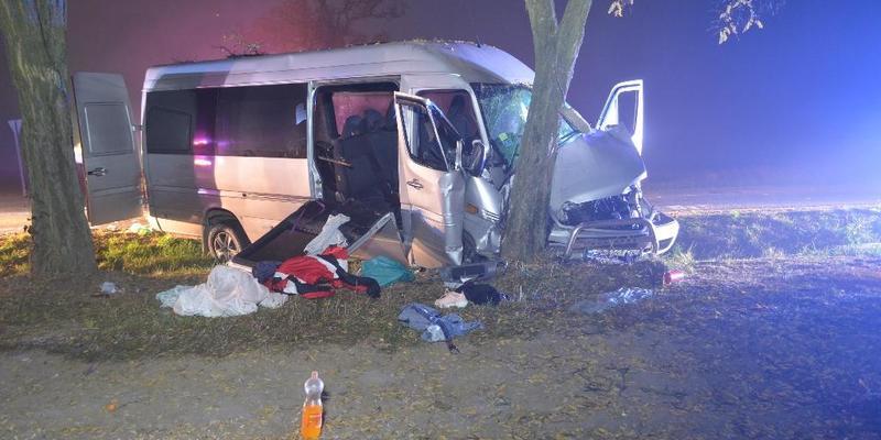 В Угорщині розбився автобус з українцями, 10 людей постраждали