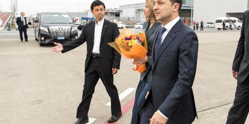 Зеленський взяв участь у церемонії інтронізації японського імператора Нарухіто (відео)