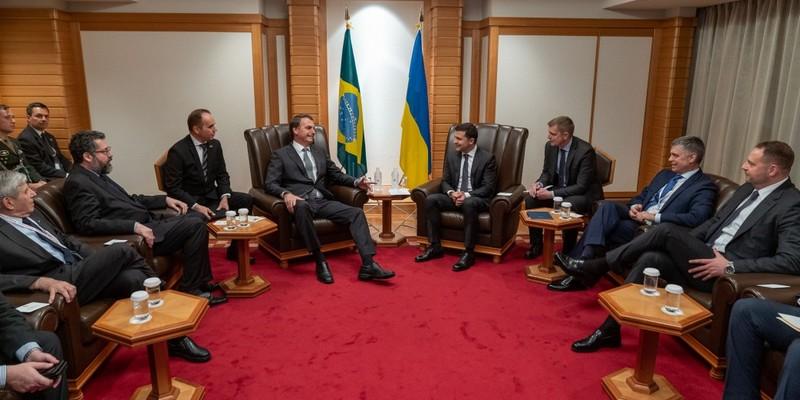 Зеленський запропонував Бразилії перезапустити спільний космічний проект