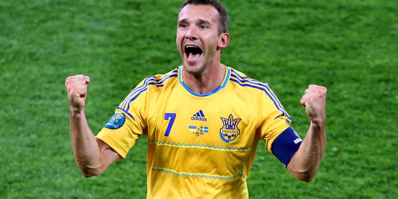 Шевченко увійшов до топ-20 накращих футболістів ХХІ століття