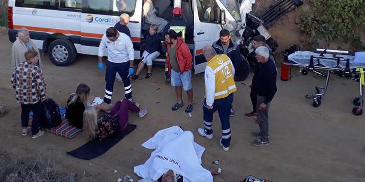 В Туреччині у ДТП постраждали десять українських туристів