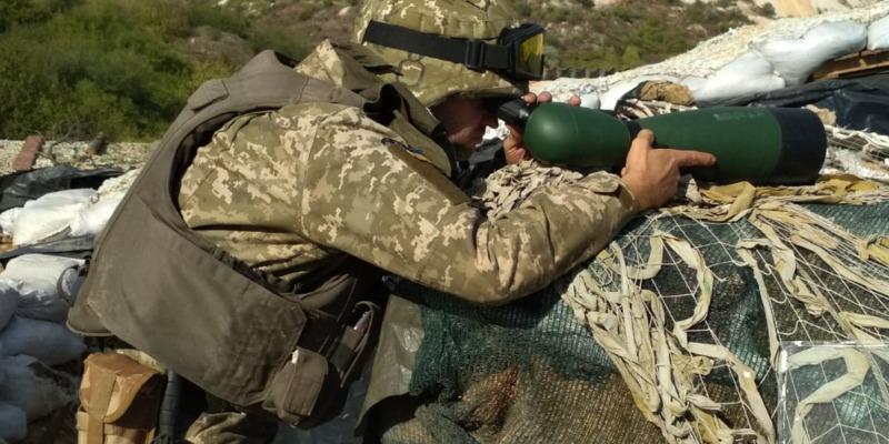 Бойовики мінометним вогнем накрили позиції ЗСУ в зоні ООС, – штаб