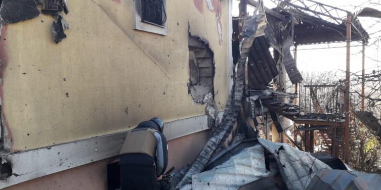Вщент розбито і спалено: Штаб ООС показав наслідки обстрілу Авдіївки (фото)