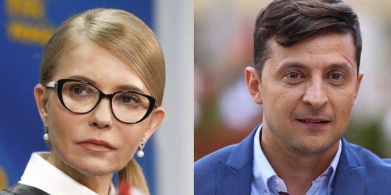 Батл Зеленського та Тимошенко в мережі збудоражив користувачів