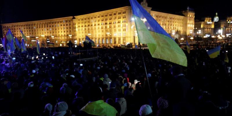 Акції до річниці Євромайдану в українських містах – огляд