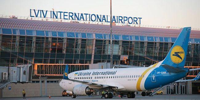 Аеропорту «Львів» призупинив роботу через інцидент з літаком