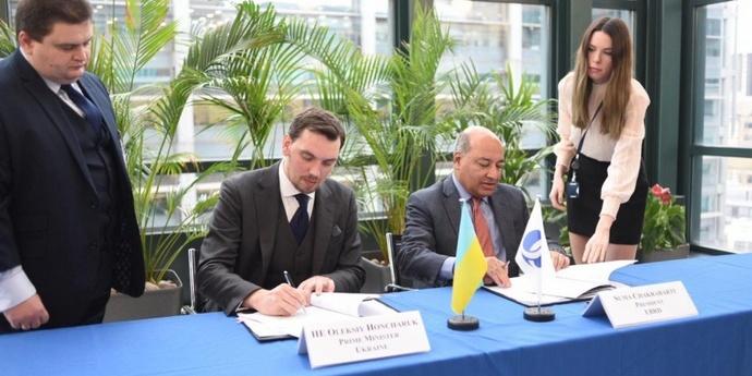Україна отримає 900 мільйонів євро на дороги від ЄБРР та ЄІБ