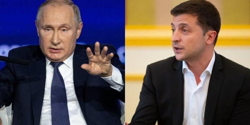 Перед зустріччю у нормандському форматі: Зеленський провів телефонну розмову з Путіним