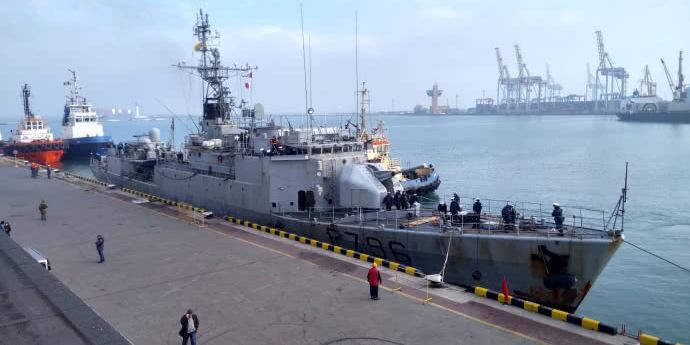 В Одеський порт зайшов фрегат НАТО