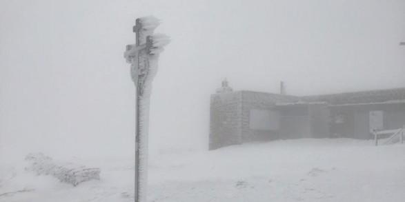 У Карпатах вже намело до 15 см снігу