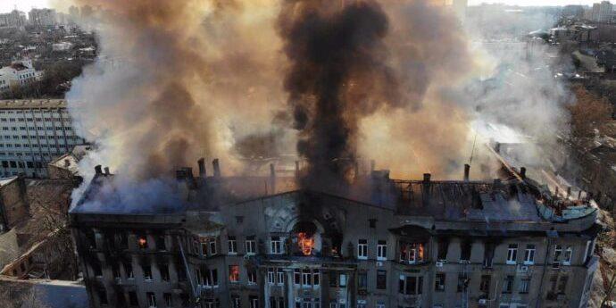 Жінка, яку знайшли мертвою після пожежі в Одесі, була викладачкою