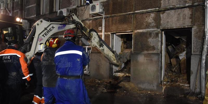 Пожежа у коледжі Одеси: кількість загиблих зросла